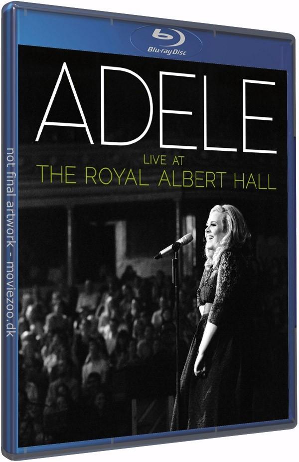 Køb Adele - Live At The Royal Albert Hall [Blu-Ray+CD]
