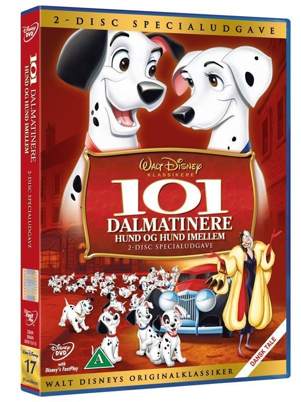 Køb 101 Dalmatinere - Hund Og Hund Imellem 2-disc Specialudgave