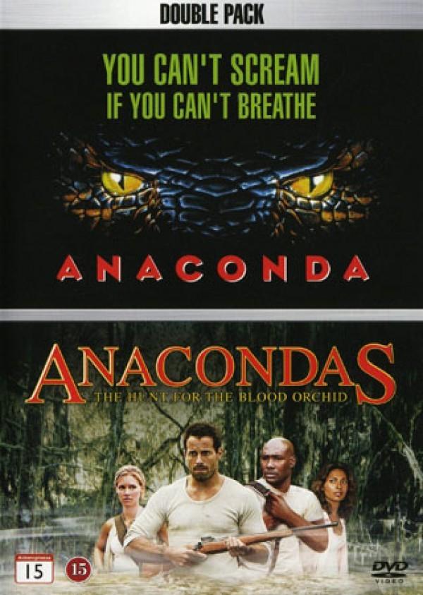 Køb Anaconda 1 + Anaconda 2: Jagten På Blodorkidéen