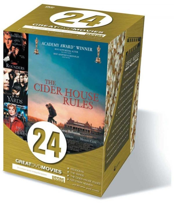 Køb 24 Great DVD Movies