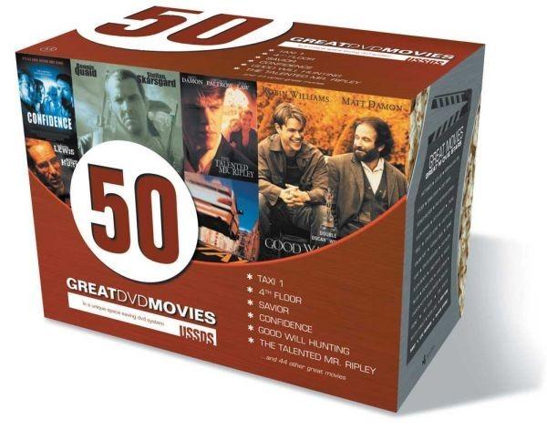 Køb 50 Great DVD Movies