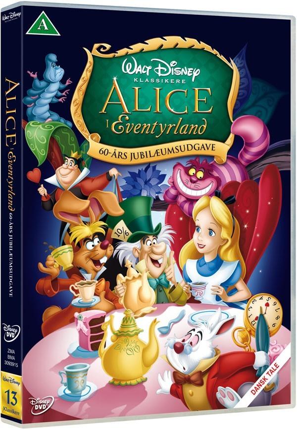 Køb Alice I Eventyrland [60 års jubilæumsudgave]