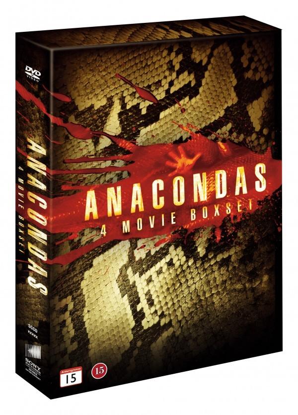 Køb Anaconda: 4 Movie Boxset
