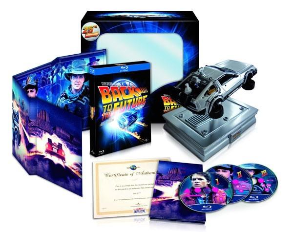 Køb Tilbage Til Fremtiden 1-3 [Delorean Edition]