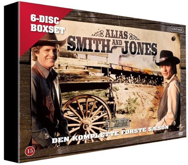 Køb Alias Smith & Jones: Den komplette første sæson.