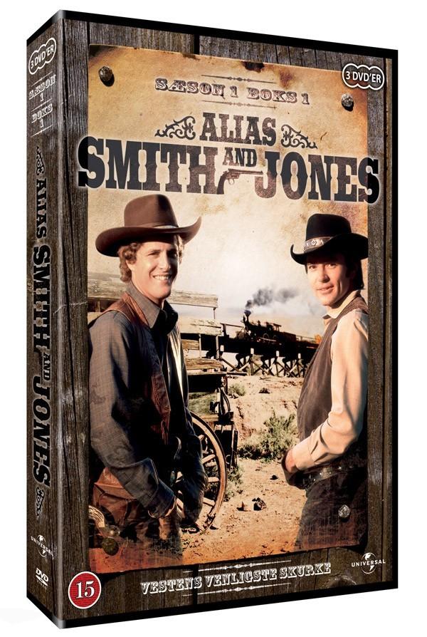 Køb Alias Smith & Jones: sæson 1, box 1