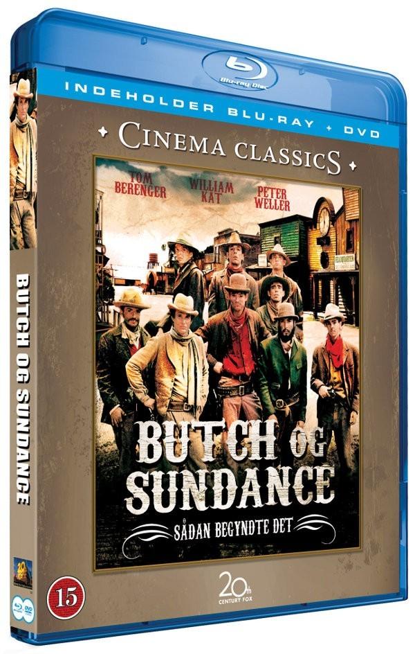 Køb Butch and Sundance - Sådan begyndte det (BluRay + DVD)