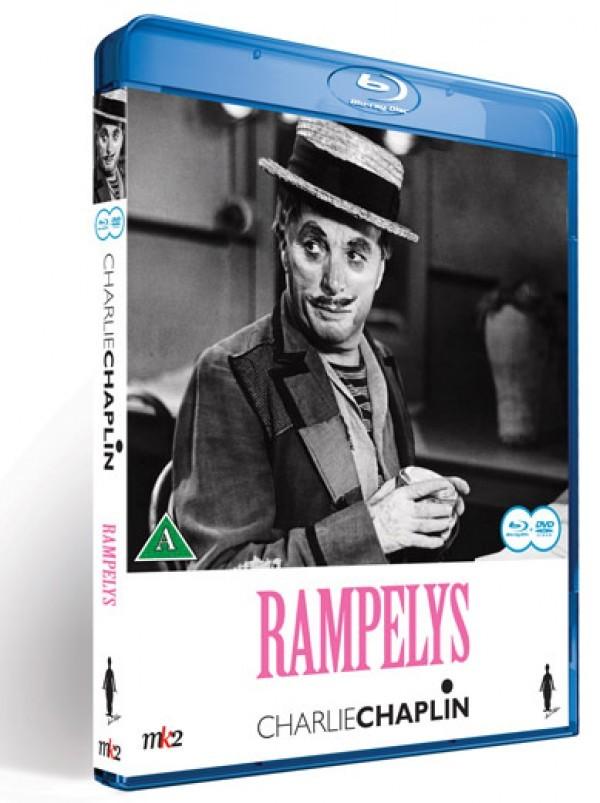 Køb Charlie Chaplin - Rampelys [BD+DVD Combo]