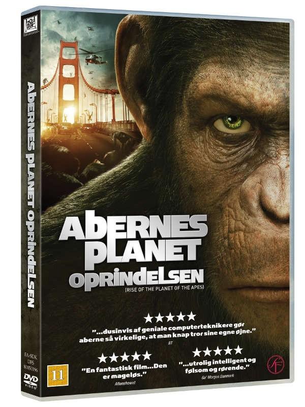 Køb Abernes Planet: Oprindelsen [brugt]