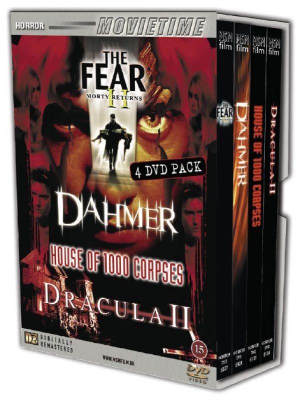 Køb 4-dvd box, Horror