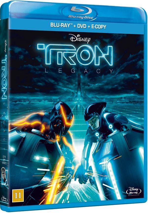 Køb TRON: Legacy [Blu-ray + DVD + E-Copy]
