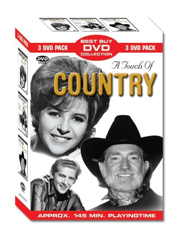 Køb A Touch Of Country Box (3-disc)