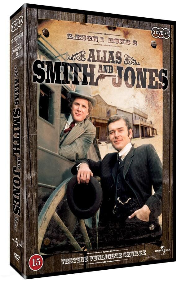 Køb Alias Smith & Jones: sæson 1, box 2