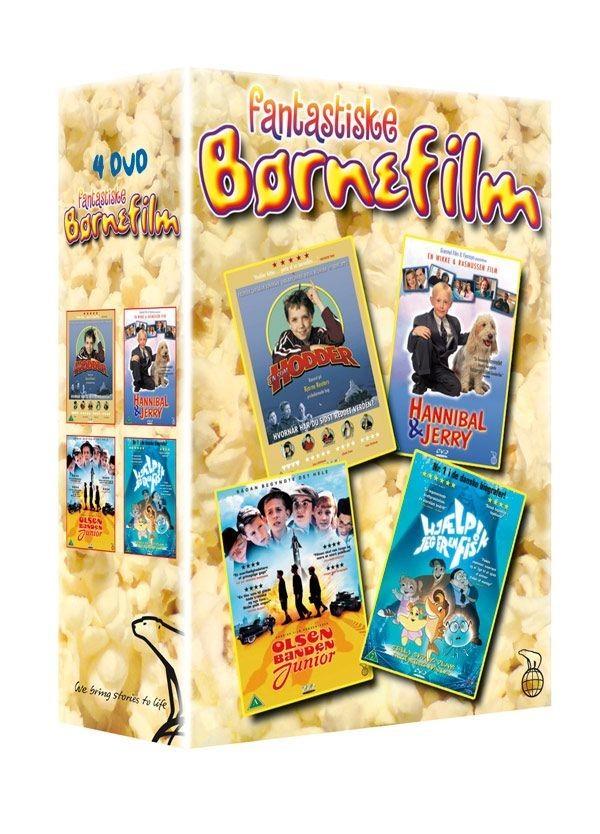 Køb 4-box: Fantastiske Børnefilm