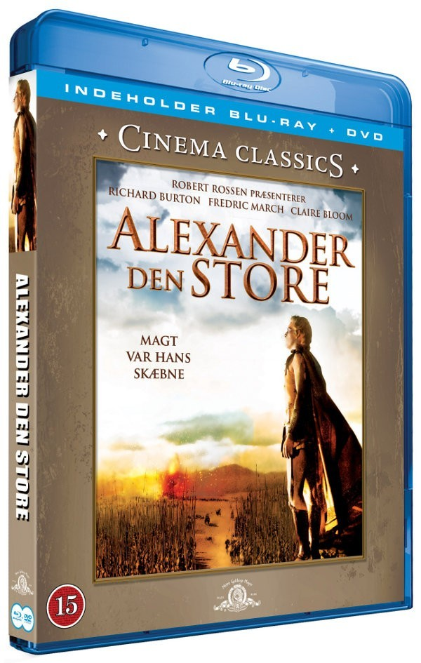 Køb Alexander den Store (BluRay + DVD)