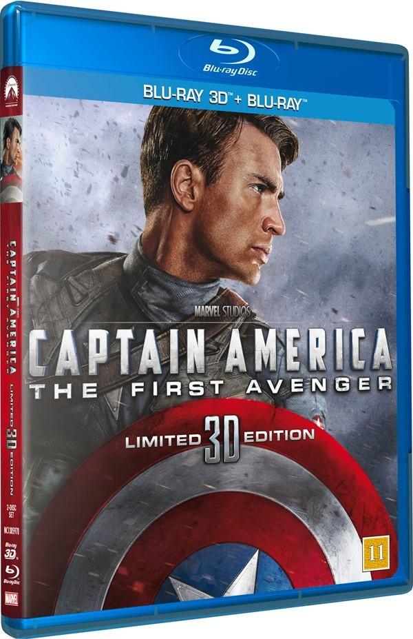 Køb Captain America: The First Avenger [BD+BD3D Combo]