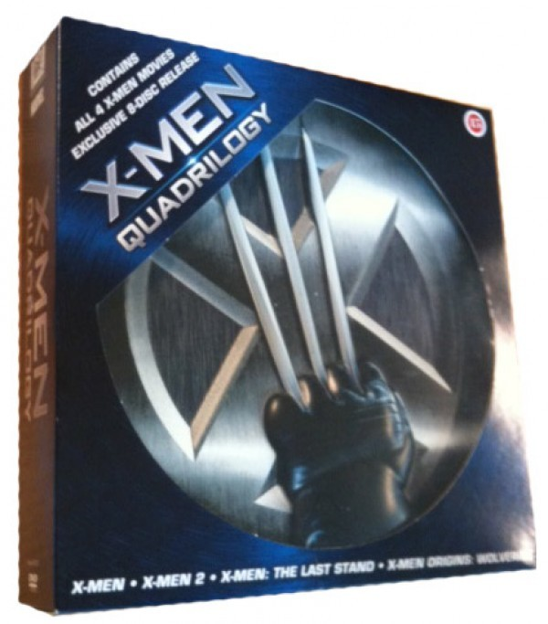 Køb X-Men 1-3 tin box + Wolverine [8-disc special edition]