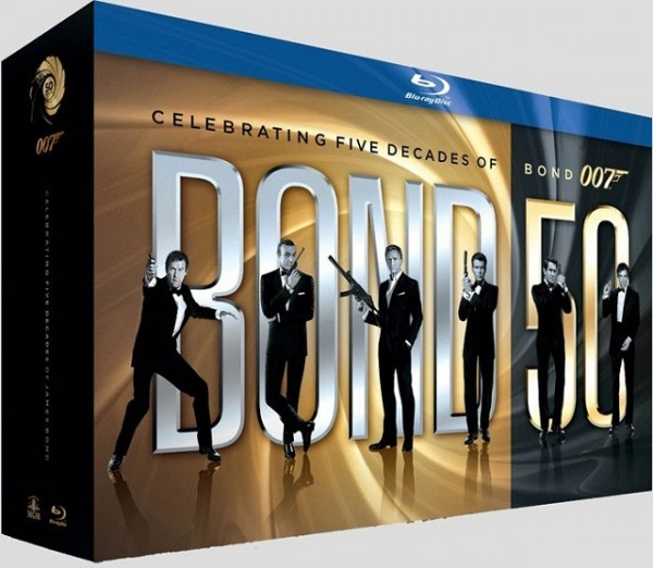 Køb 50th Anniversary Bond Blu-Ray Box [23 disc]
