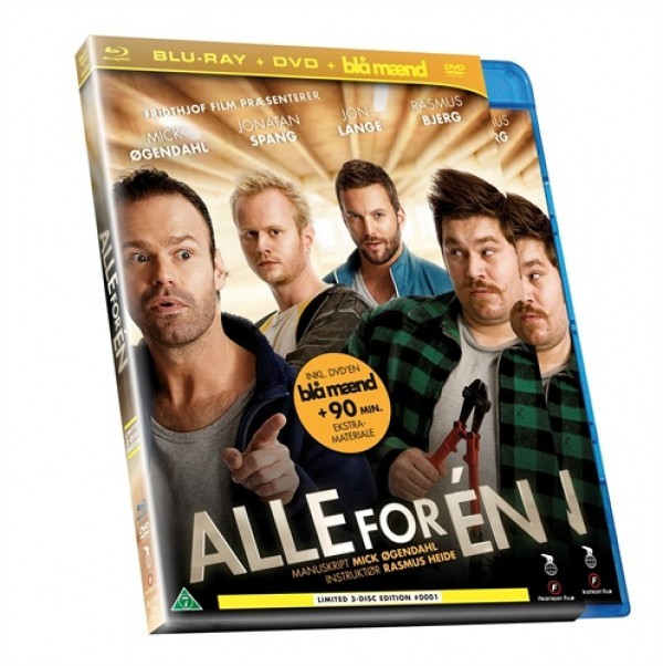 Køb Alle For En Combo Box [Blu-Ray + DVD + Blå Mænd DVD]