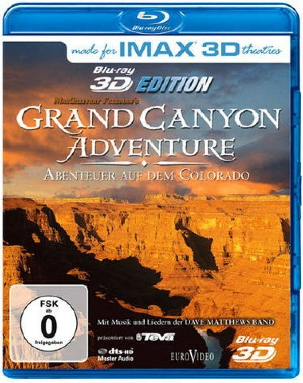 IMAX: Grand Canyon Adventure - Aventeuer auf dem Colorado 3D [udgår]