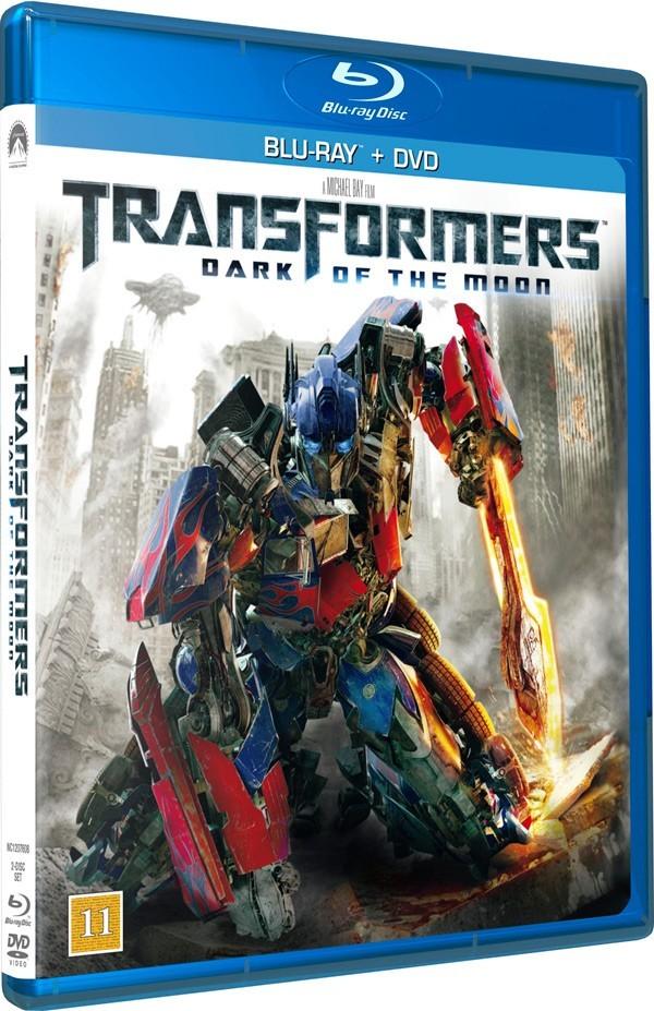 Køb Transformers 3: The Dark of the Moon [Blu-ray + DVD]