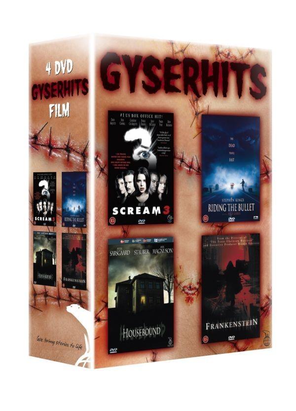 Køb 4-box: Gyserhits