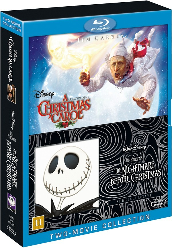Køb A Christmas Carol + The Nightmare Before Christmas
