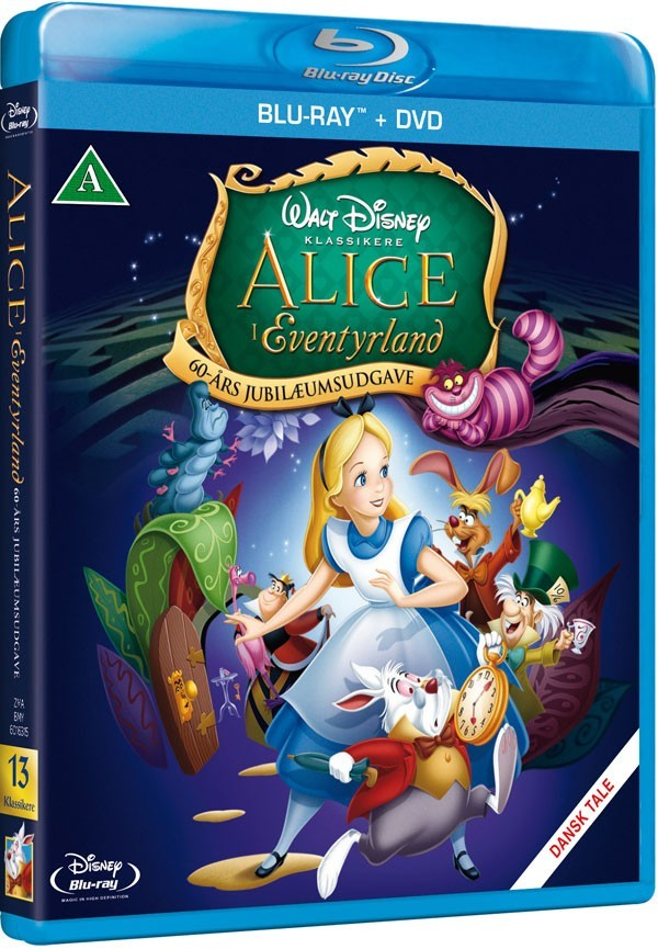 Køb Alice I Eventyrland [60 års jubilæumsugave]