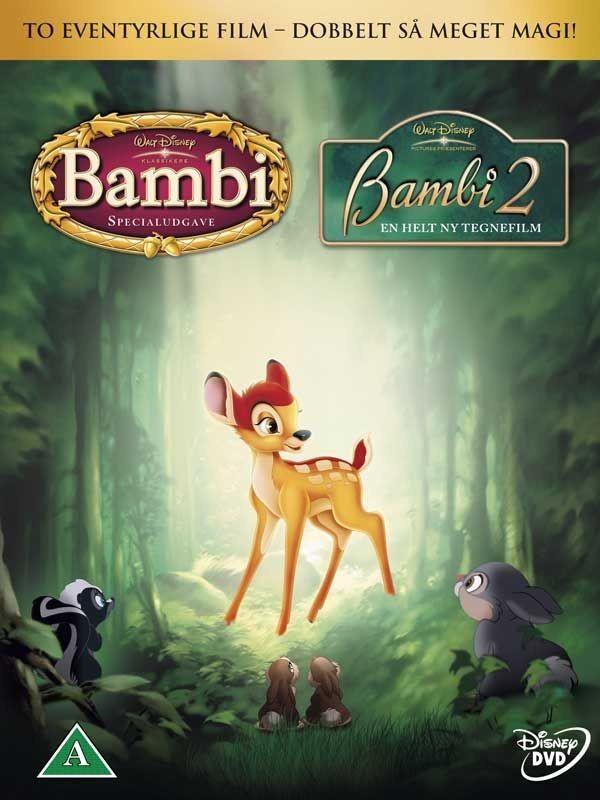 Køb Bambi og Bambi 2 digipack