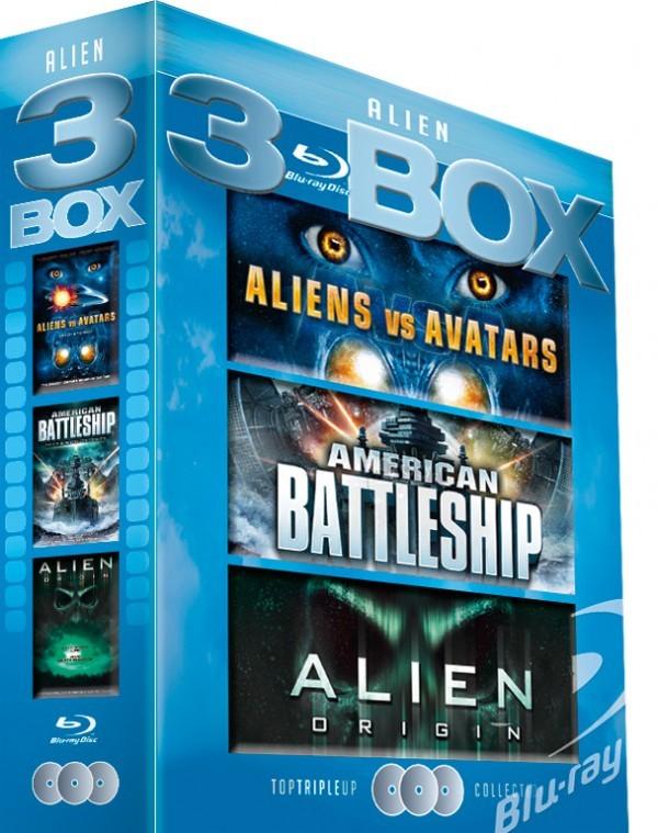 Køb Alien Box - 3 Blu-Ray