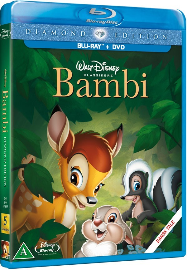 Køb Bambi [Diamond Edition Blu-ray + DVD]