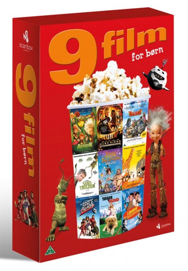 Køb 9 film - for børn