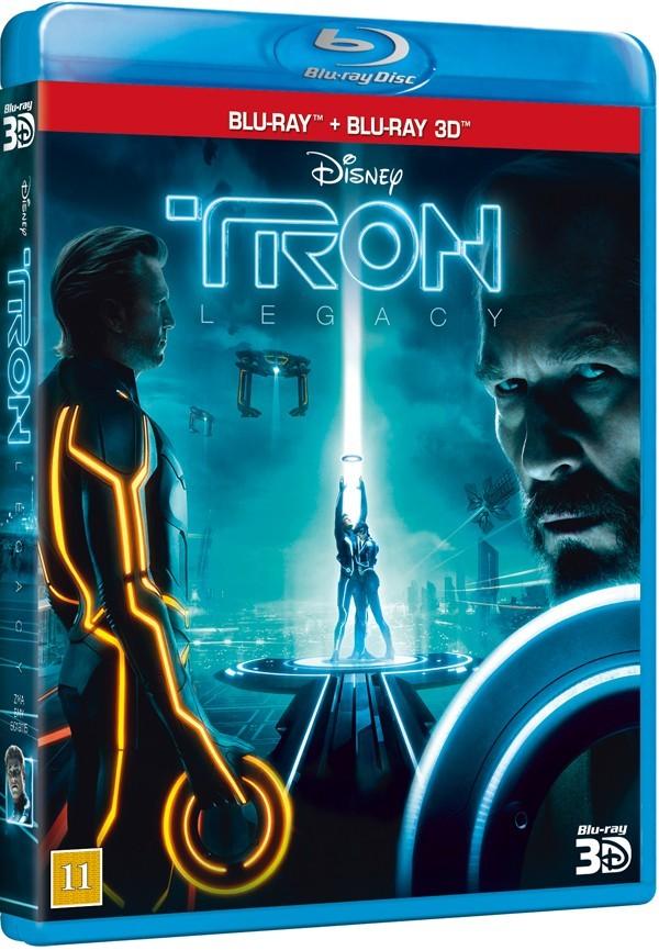 Køb TRON: Legacy 3D [Blu-ray + Blu-ray 3D]