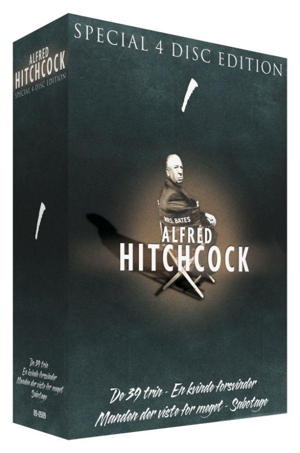 Køb Alfred Hitchcock box (4 disc)