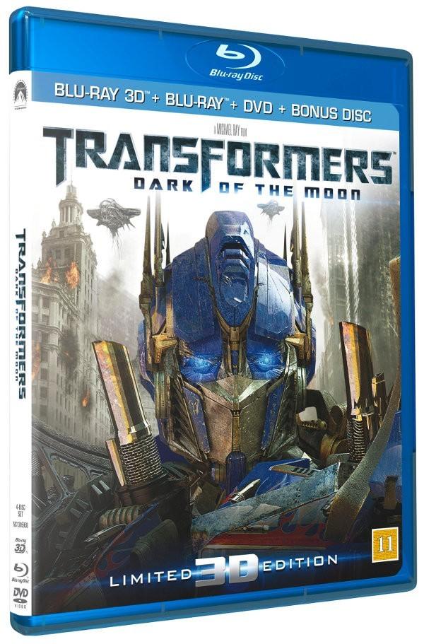 Køb Transformers 3: The Dark of the Moon 3D [Blu-ray 3D + Blu-ray + DVD]