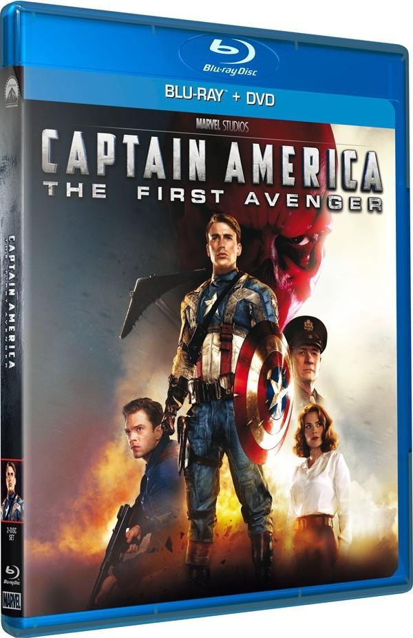 Køb Captain America: The First Avenger [BD+DVD Combo]