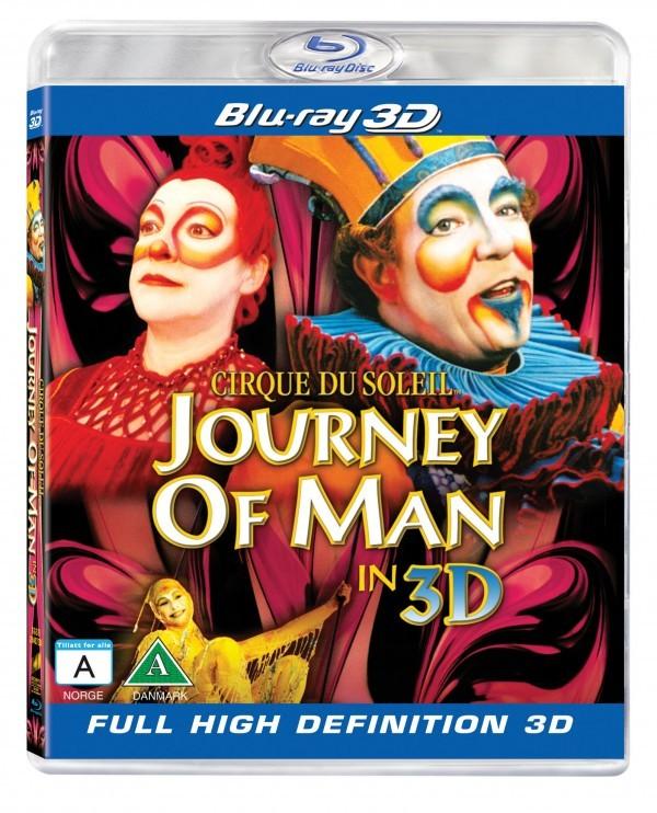 Køb Cirque Du Soleil - Journey of Man [Blu-Ray 3D]