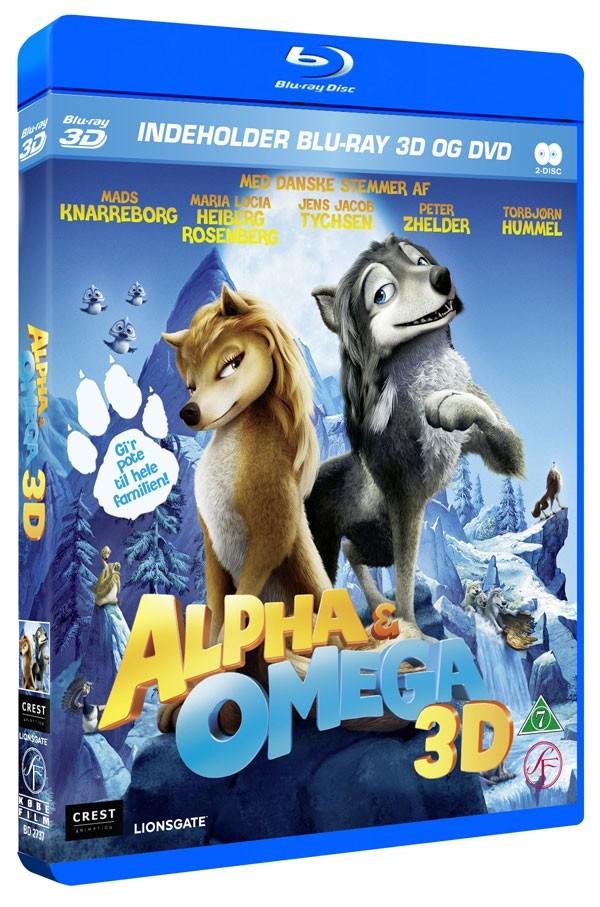 Køb Alpha og Omega [Blu-Ray-3D+2D+DVD Combo]
