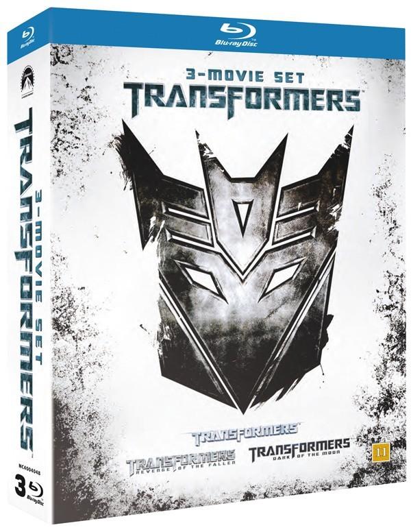 Køb Transformers 1-3 Box