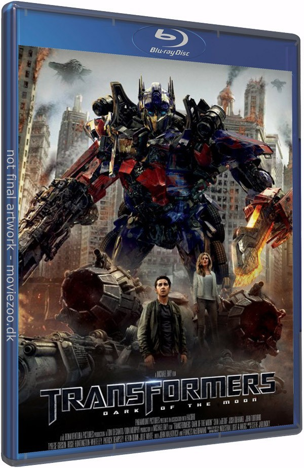 Køb Transformers 3: The Dark of the Moon 3D Blu-ray Collector's Edition [Blu-ray 3D + Blu-ray]