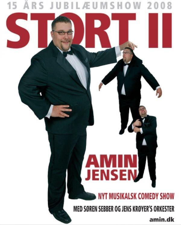 Køb Amin Jensen: Stort II