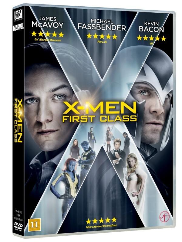 Køb X-Men: First Class [DVD+E-Copy Combo]