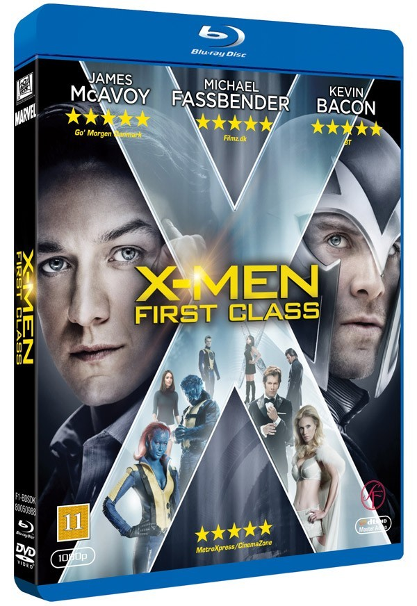 Køb X-Men: First Class [BD+E-Copy Combo]