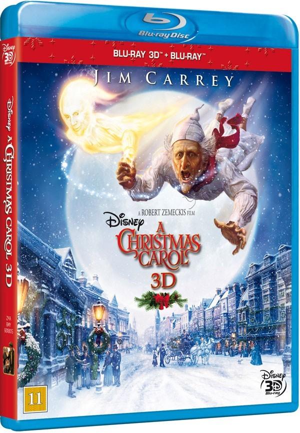 Køb A Christmas Carol 3D [2-disc Blu-ray 3D + Blu-ray]