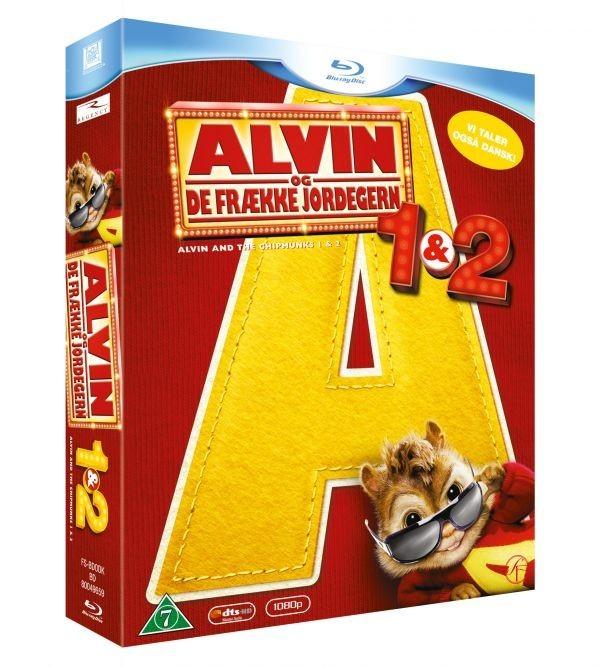 Køb Alvin Og De Frække Jordegern 1& 2