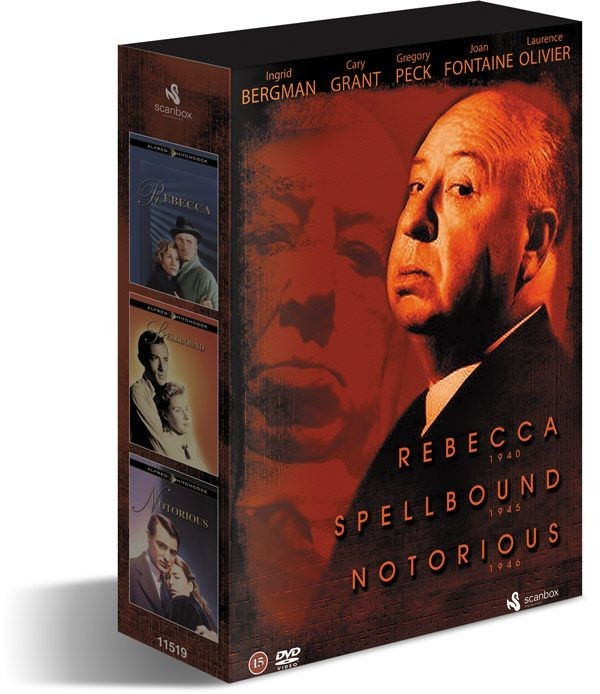 Køb Alfred Hitchcock Box (3-disc)